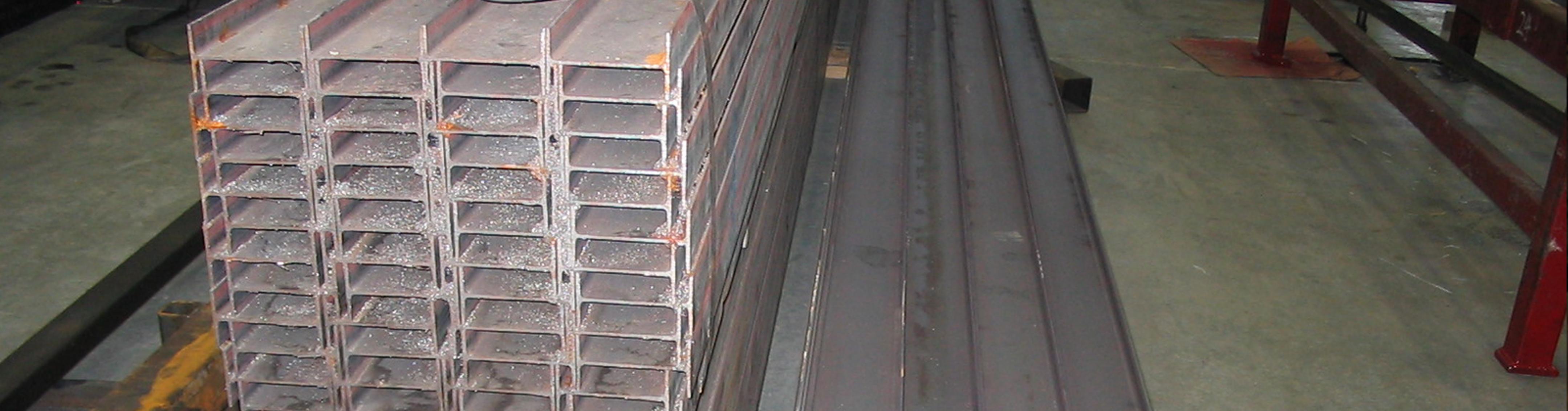 "S4 x 7.7 Standard Steel I-Beam 24/"" Long"